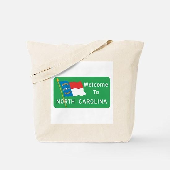 Welcome to North Carolina - USA Tote Bag