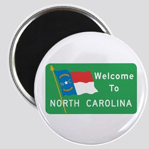 Welcome to North Carolina - USA Magnet