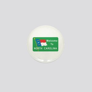 Welcome to North Carolina - USA Mini Button