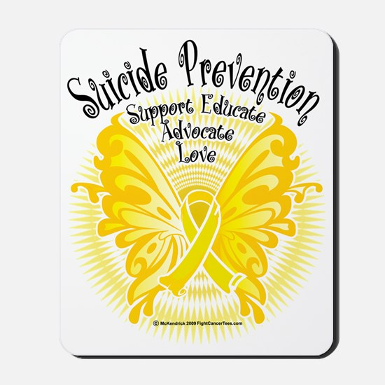 Suicide-Prevention-Butterfly-3 Mousepad