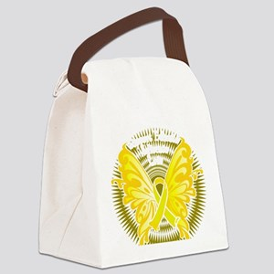 Suicide-Prevention-Butterfly-3-bl Canvas Lunch Bag