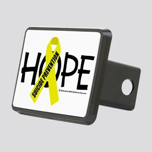 Suicide-Prevention-Hope Rectangular Hitch Cover