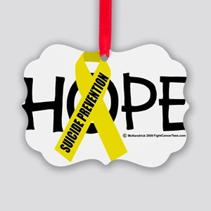Suicide-Prevention-Hope Picture Ornament