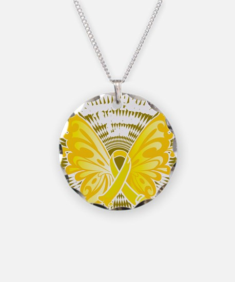 Suicide-Prevention-Butterfly Necklace