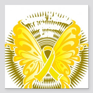 """Suicide-Prevention-Butte Square Car Magnet 3"""" x 3"""""""