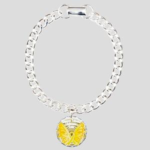 Suicide-Prevention-Butte Charm Bracelet, One Charm