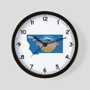 Welcome to Montana - USA Wall Clock