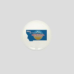 Welcome to Montana - USA Mini Button