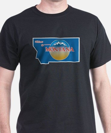 Welcome to Montana - USA T-Shirt