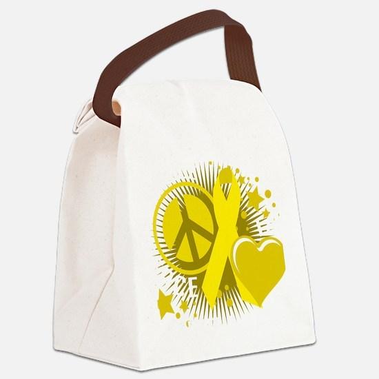 Suicide-PLP-blk Canvas Lunch Bag