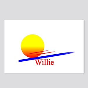 Willie Postcards (Package of 8)