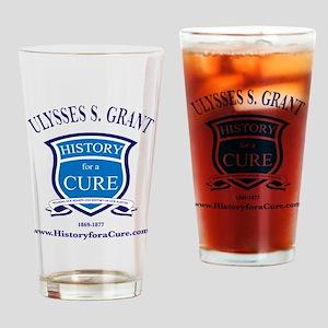 Ulysses S GRANT 18 TRUMAN dark shir Drinking Glass