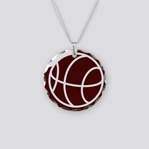 j0325764_CRIMSON Necklace Circle Charm