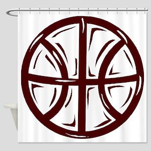j0352518_CRIMSON Shower Curtain