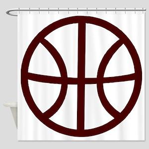 j0352518_1CRIMSON Shower Curtain