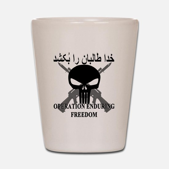 2-afghann Shot Glass