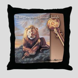 """The Scepter"" Lion of Judah Pillow"