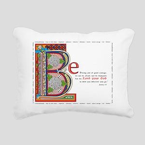 2-bstrongfinalcolor Rectangular Canvas Pillow