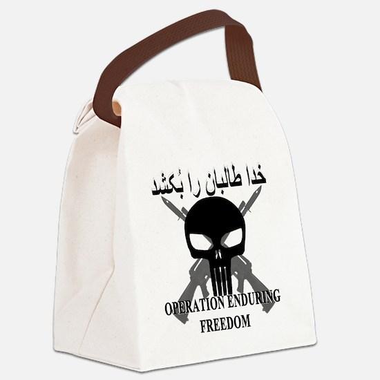 3-afghann Canvas Lunch Bag