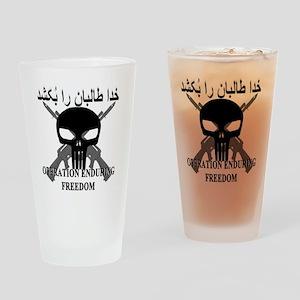 3-afghann Drinking Glass