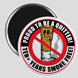 Proud-To-Be-A-Quitter-10+-Years Magnet