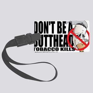 Butthead Large Luggage Tag