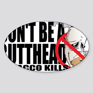 Butthead Sticker (Oval)