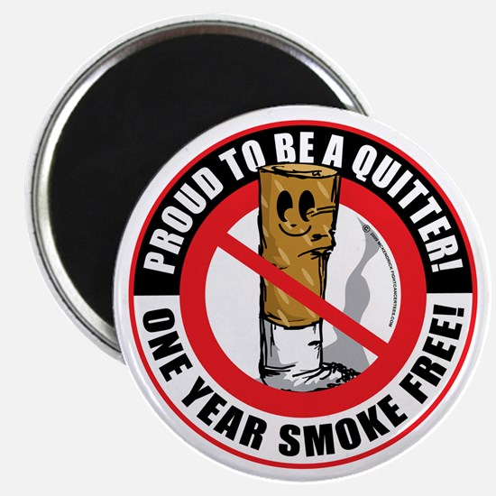 Proud-To-Be-A-Quitter-1-Year Magnet