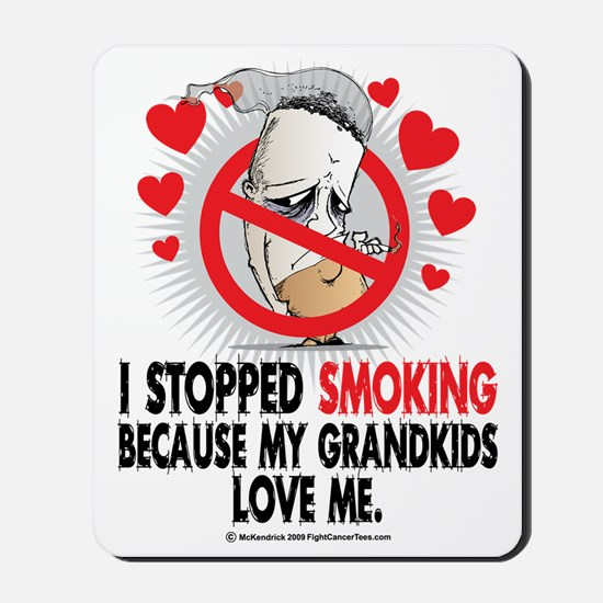 Stopped-Smoking-Grandkids Mousepad