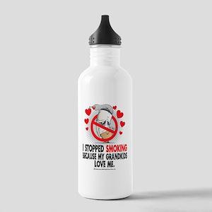 Stopped-Smoking-Grandk Stainless Water Bottle 1.0L