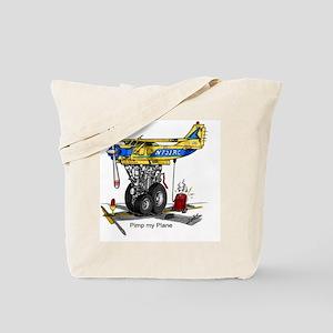PIMP MY PLANE Tote Bag