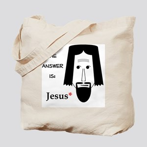 AnswerJesus Tote Bag