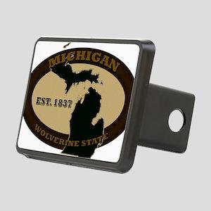Michigan Est 1837 Rectangular Hitch Cover