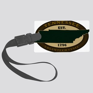Tennessee Est 1796 Large Luggage Tag