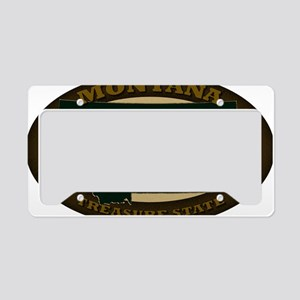 Montana Est 1889 License Plate Holder