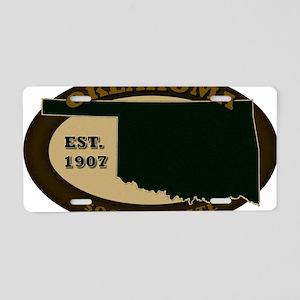 Oklahoma Est 1907 Aluminum License Plate