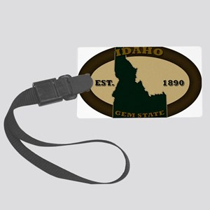 Idaho Est 1890 Large Luggage Tag
