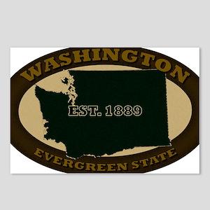 Washington Est 1889 Postcards (Package of 8)
