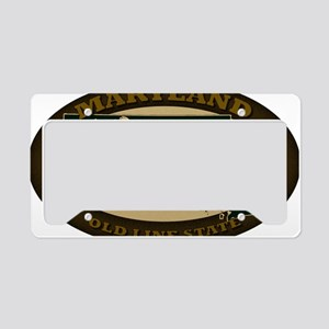 Maryland Est 1788 License Plate Holder