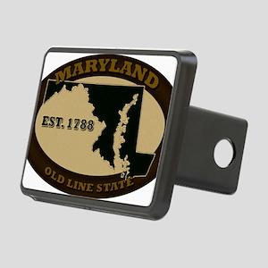Maryland Est 1788 Rectangular Hitch Cover