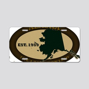 Alaska Est 1959 Aluminum License Plate