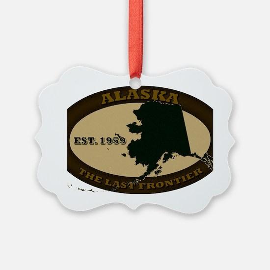 Alaska Est 1959 Ornament