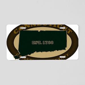 Connecticut Est 1788 Aluminum License Plate