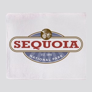 Sequoia National Park Throw Blanket