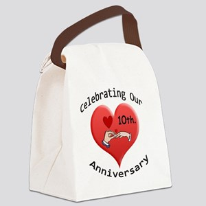 wedding hands10 Canvas Lunch Bag