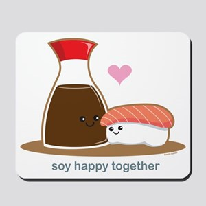 Soyhappytogether Mousepad