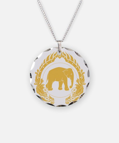 Thai-elephant-gold Necklace