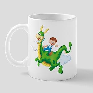 Dragon Rider Right-handed Mug