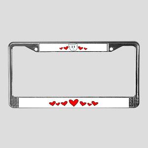 Kitty Love License Plate Frame