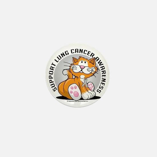 Lung-Cancer-Cat Mini Button